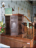 TM4160 : The Pulpit of St Mary Magdalene Church by Geographer