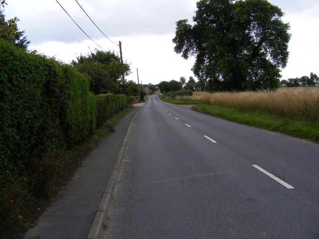 B1121 Saxmundham Road
