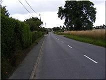 TM4160 : B1121 Saxmundham Road by Geographer