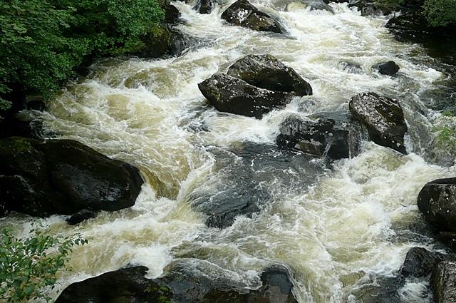 Afon Llugwy from Pont Cynfyng