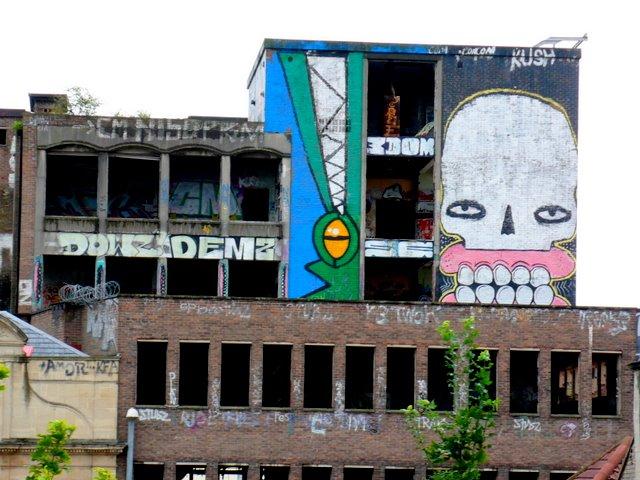 Graffiti Street Art Stokes Croft Bristol