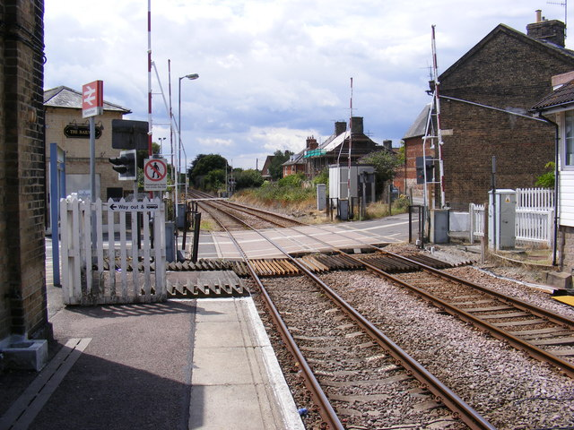 Albion Street Level Crossing, Saxmundham