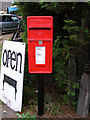 TM3257 : Main Road Postbox by Adrian Cable