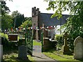 NY5455 : Watson Institute, Castle Carrock, viewed from churchyard by Rose and Trev Clough