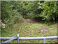 TM3764 : Former Road & entrance to Bullockshed Wood by Adrian Cable