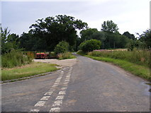 TM3761 : Mitford Road, Benhall by Adrian Cable