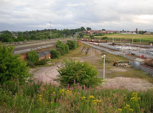 Old railway sheds at Upperby Depot