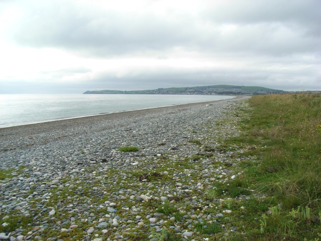 Beach at Clonmannan, north of Wicklow Town