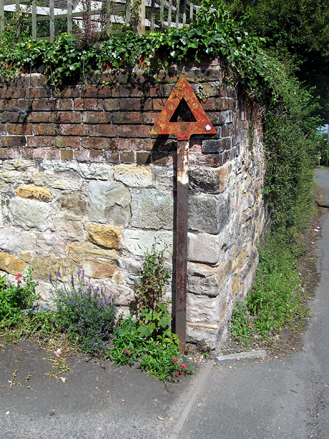 Old Road Sign Post, Shepherds Lane, Ketley