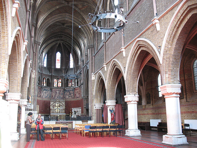 Interior of St Peter's, Vauxhall