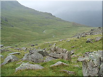 NY1612 : High Beck in Windgap Cove by David Brown