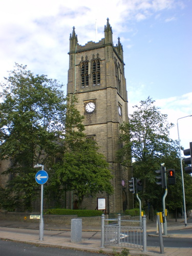 The Parish Church of St Jude, Halifax