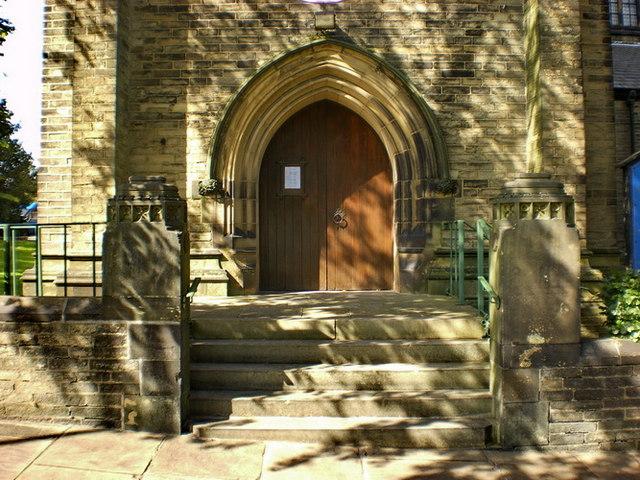 The Parish Church of St Jude, Halifax, Doorway