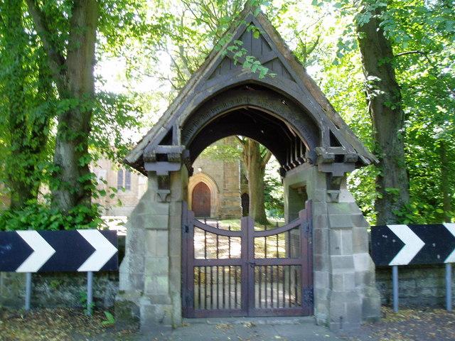 Lych Gate at St.Johns Church Longhirst