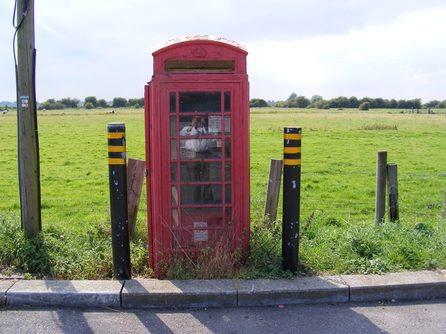 Telephone Box in Haddiscoe Railway Station Car Park