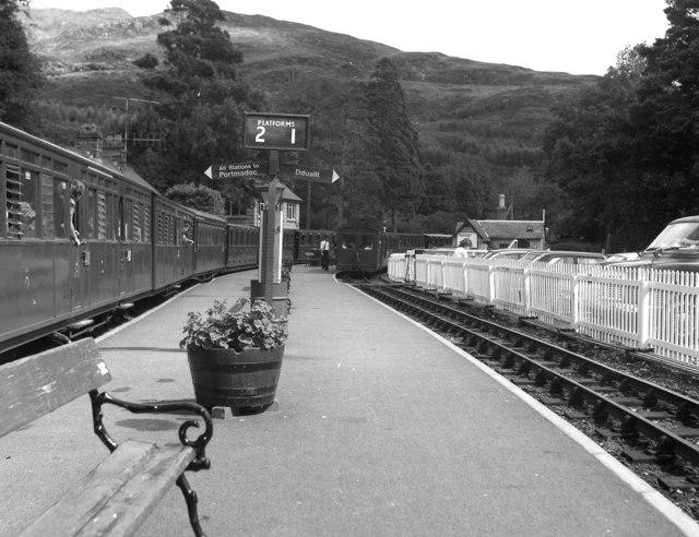 Tan y Bwlch station, Festiniog Railway