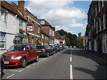 SU8294 : High Street, West Wycombe by Roger Cornfoot