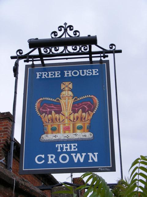 The Crown Inn Public House Sign, Westleton