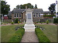 TM4469 : Westleton War Memorial & Westleton Village Hall by Adrian Cable