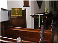 TM4269 : The Pulpit of All Saints Church, Darsham by Geographer