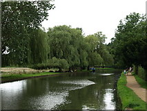 SU9948 : The River Wey at Guildford by Andy Beecroft