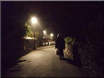 SM7525 : Lamplight in St David's by ceridwen