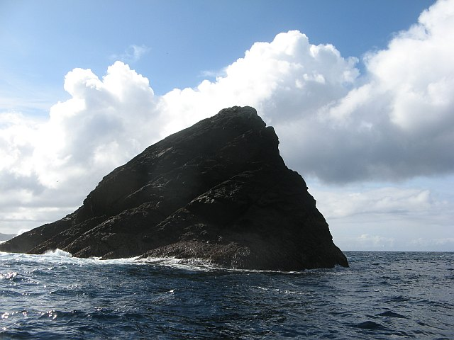 Stack between Boreray and Stac an Armin
