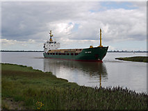 "TA0623 : The ""Ivan Brobov"" approaching Barrow Haven by David Wright"