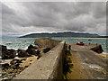 C2440 : Portsalon Pier by David Baird