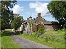 NY6096 : Deadwater railway station by Andy Parrett
