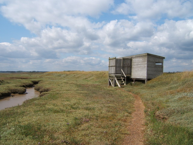 Dovey's Hide RSPB Havergate Island Reserve