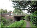 SP8213 : Aylesbury Arm: The High Street crosses the Canal (Bridge No 18) by Chris Reynolds