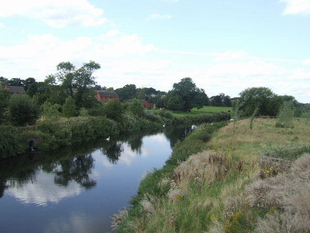 River Trent - upstream of the Rugeley Bypass