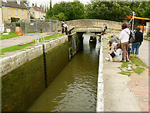ST8260 : Canal boat on the way up the Kennet and Avon canal (1) by Brian Robert Marshall