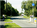 ST6168 : 2009 : Looking north on Sturminster Road by Maurice Pullin