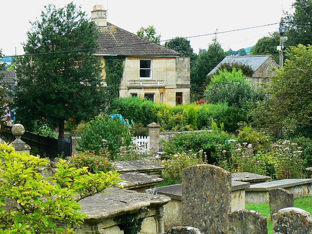 Roman Villas, Church Lane, Box, Wiltshire