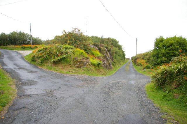 Former railway near Loch an Iúir