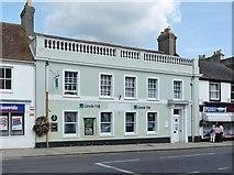 SY9287 : Lloyds TSB bank, Wareham by Robin Drayton