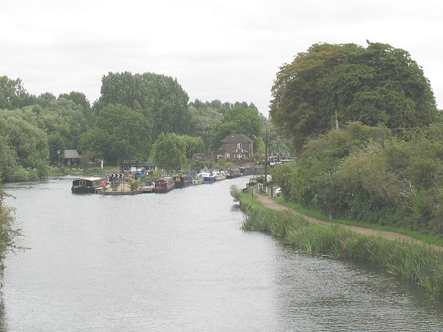Lea Navigation at Nazeing