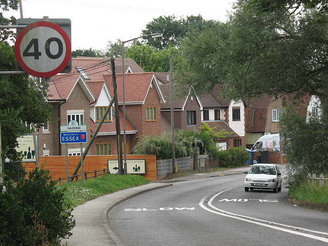 Welcome to Essex - now slow down!