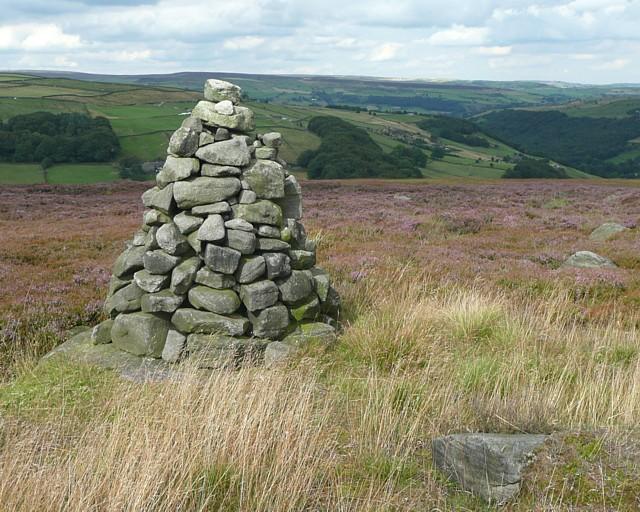 Cairn, Turley Holes Edge, Mytholmroyd