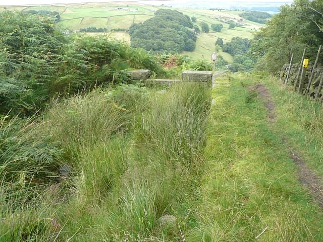 Silt trap, Turley Holes Edge, Mytholmroyd