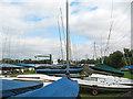 TL3807 : Broxbourne Sailing Club - on land by Stephen Craven
