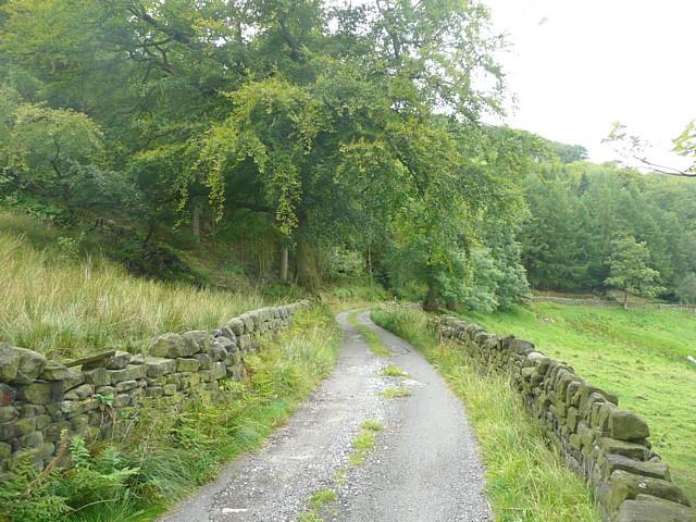Lane to Higher House, Mytholmroyd