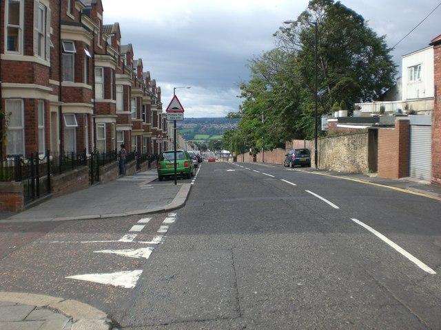 Condercum Road looking South