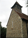 TL4311 : St Mary, Little Parndon - west end by Stephen Craven