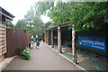 NZ6620 : Woodland Gardens Visitors Centre, Saltburn-by-the-Sea by hayley green