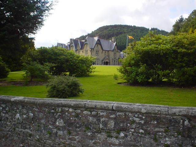The Hall, Abbey Cwmhir