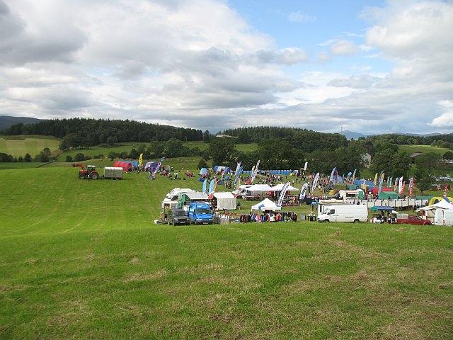 Assembly area, Scottish Six Days 2009 Day 6