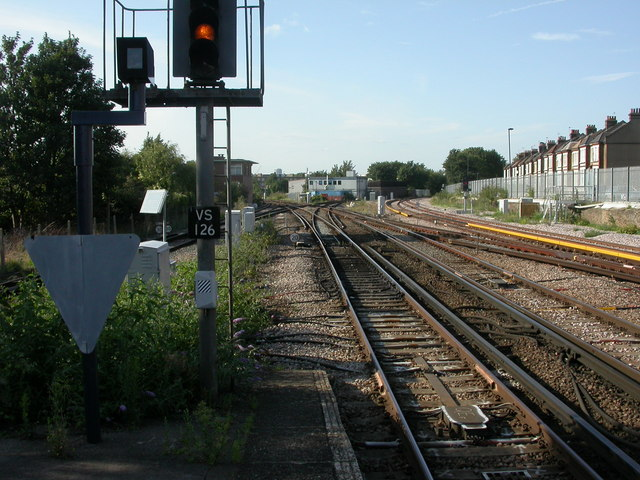 Herne Hill, railway junction